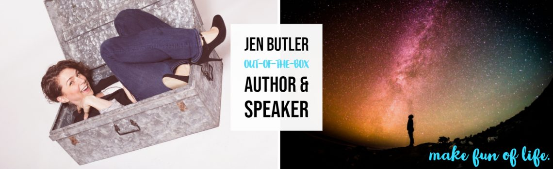 Jen Butler: out-of-the-box author & speaker